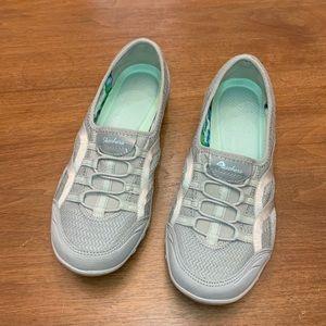 Skechers Breathe Easy Grey Sneakers